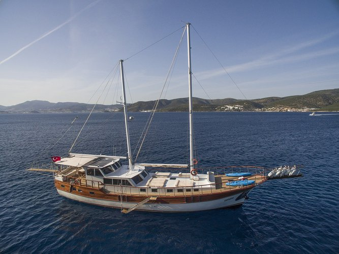 Gulet boat rental in Bodrum, Turkey