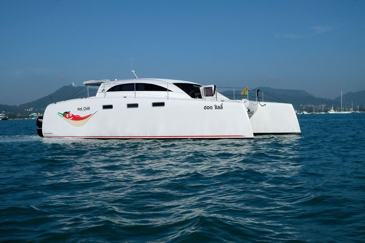 Catamaran boat for rent in Chalong
