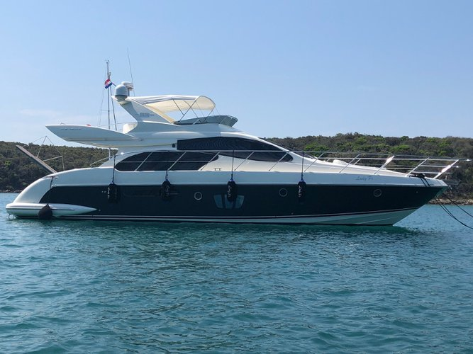 Experience Punat, Krk on board this elegant motor boat