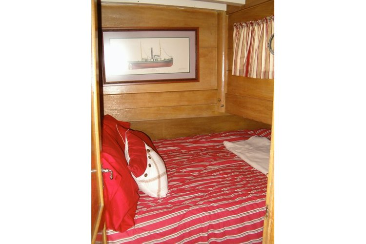 Up to 22 persons can enjoy a ride on this Classic boat