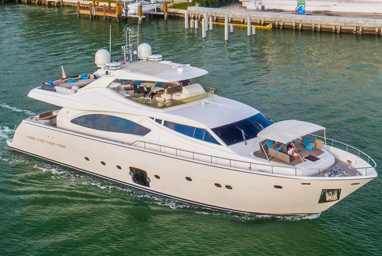 88' Ferretti - Don't Reserve a Shuttle. Rent a Luxury Yachting Experience!