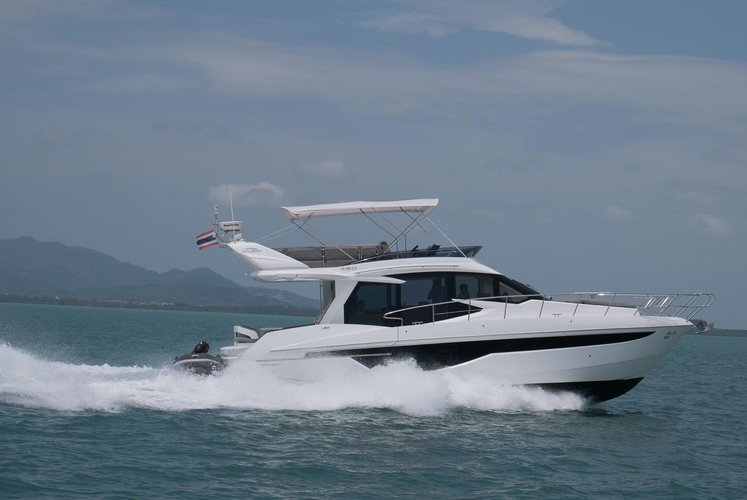 Day out aboard this Motor yacht to explore the beauty of Thailand