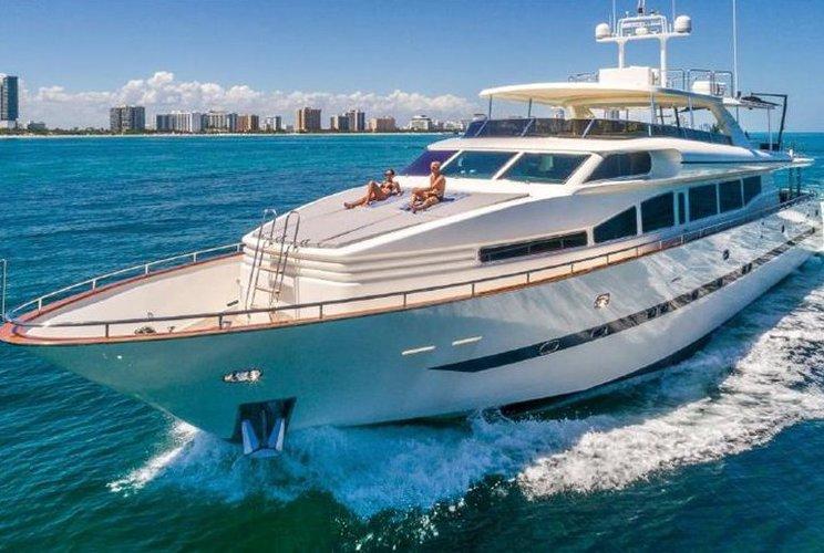 Boat for rent Horizon 110.0 feet in MBM - Miami Beach Marina, FL
