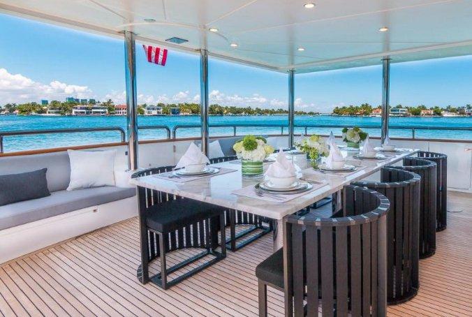 Motor yacht boat rental in MBM - Miami Beach Marina, FL