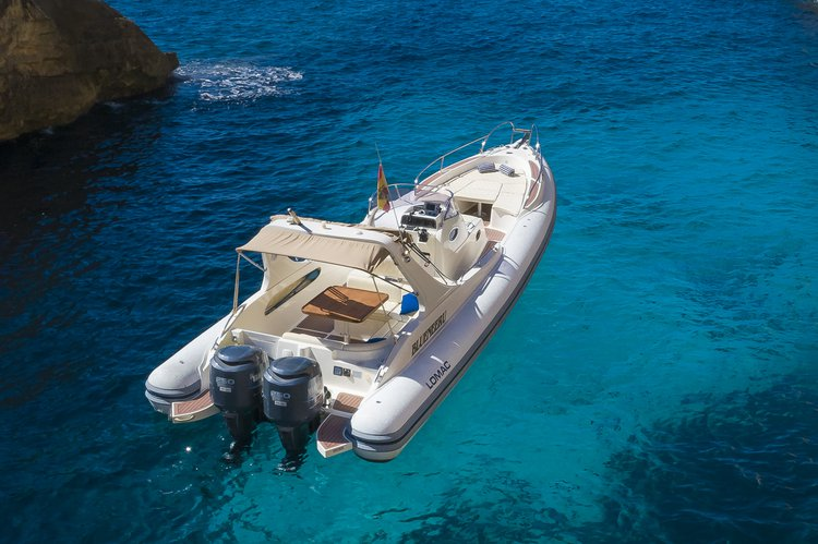 Motor yacht boat for rent in PALMA