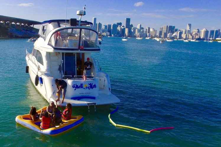 Boat for rent Meridian 42.7 feet in Lummus Park, Miami River, FL