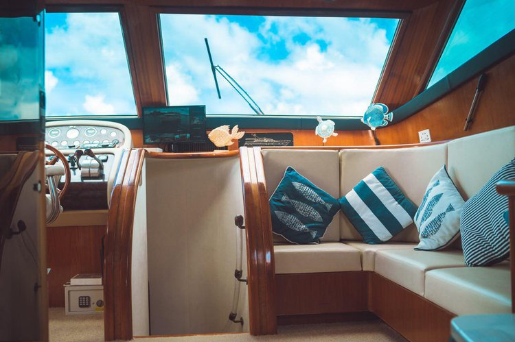 Boating is fun with a Motor yacht in Male