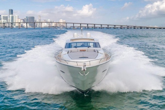 80' Pershing - Don't Just Rent a Yacht. Rent a Luxury Yachting Experience!