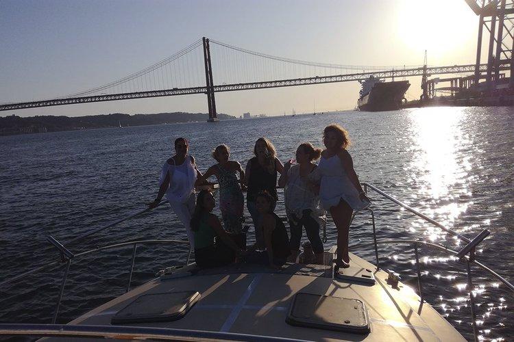Catamaran boat rental in Doca de Alcântara - Porto de Lisboa, Portugal