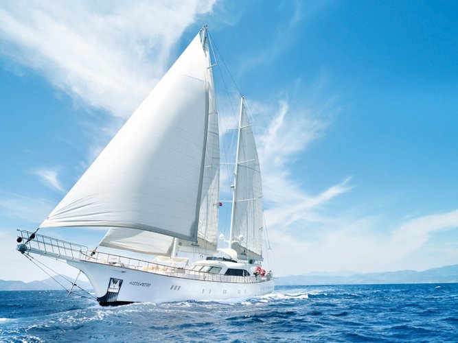 Discover Split in style boating on this sailboat rental