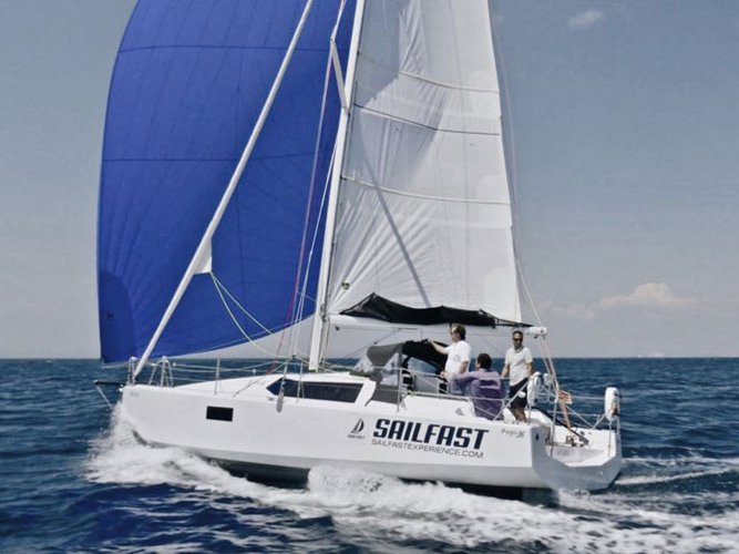 Enjoy luxury and comfort on this Lanzarote sailboat charter