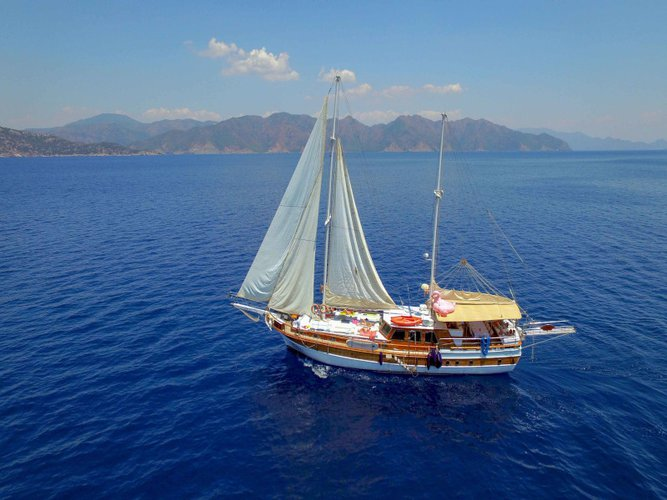 Charter this amazing  Gulet - Perla del Mar 1 in Marmaris, TR