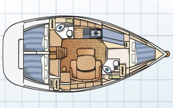 BENETAU's 43.0 feet in Alimos