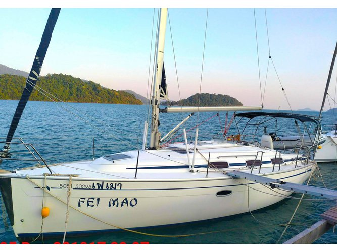 Hop aboard this amazing sailboat rental in Koh Chang!