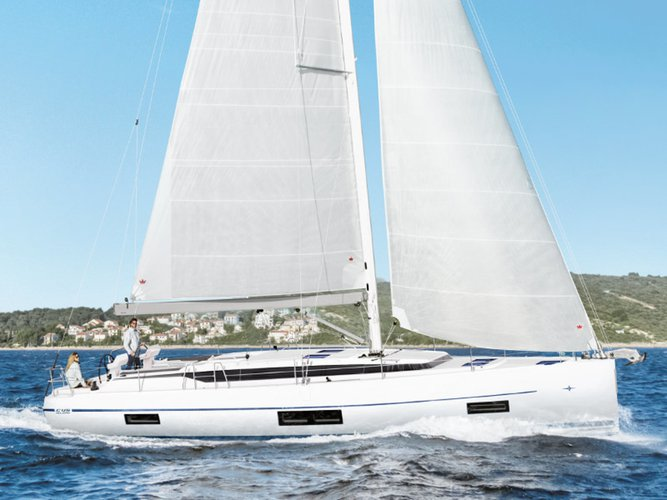 Get on the water and enjoy Athens in style on our Bavaria Yachtbau Bavaria C45 (5 cbs)