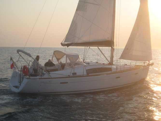 Charter this amazing Beneteau Oceanis 40 in Salerno, IT