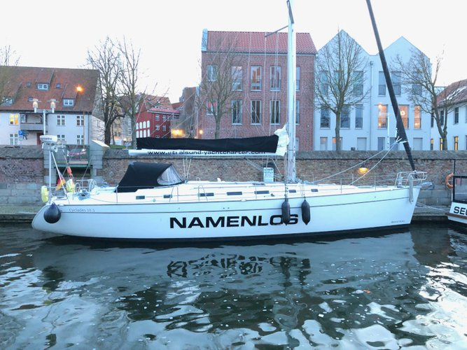 Sail Stralsund, DE waters on a beautiful Beneteau Cyclades 50.5