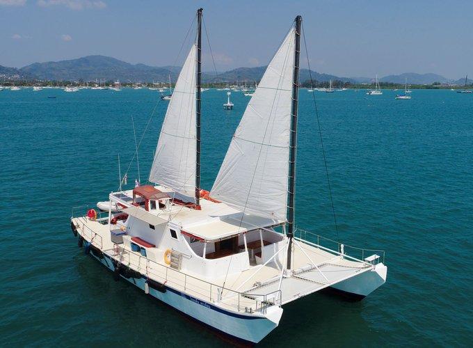 Brand's 58.0 feet in Chalong Bay