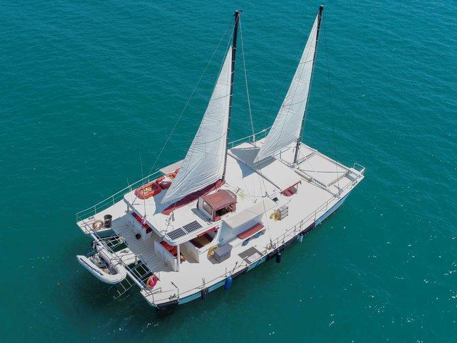 Boat rental in Chalong Bay,