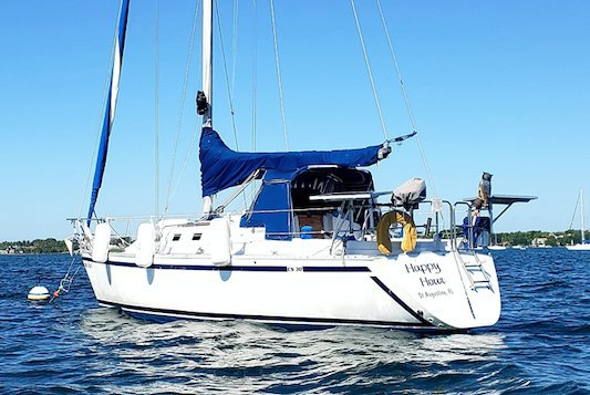 30.0 feet Canadian Sailcraft in great shape
