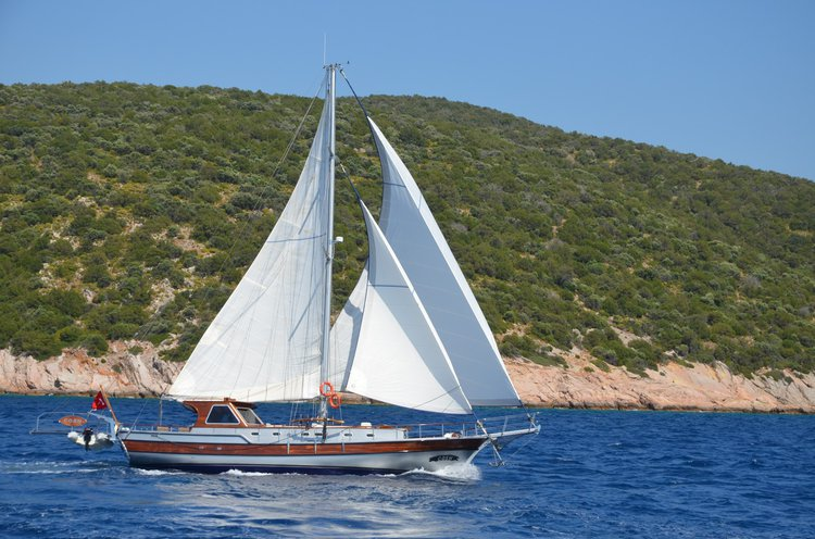 All you need to do is relax while on board this 52 ft gulet