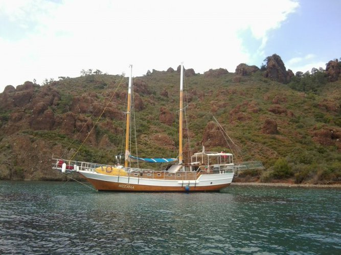 This sail boat rental is perfect choice to enjoy Bodrum