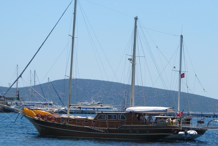 Climb aboard this amazing gulet to experience Turkey