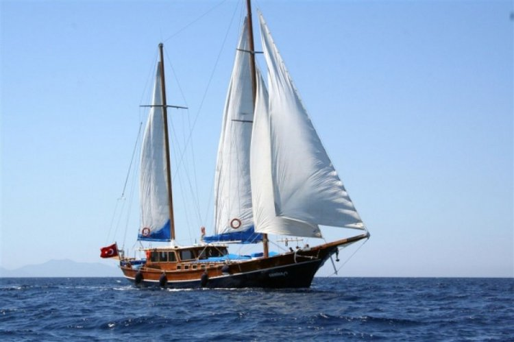 Indulge in luxury and comfort onboard this elegant gulet