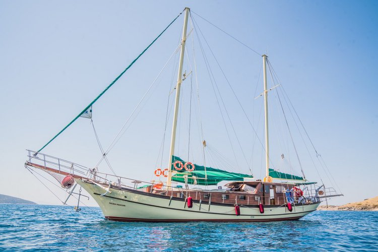 Enjoy luxury and comfort on this 75 ft gulet charter