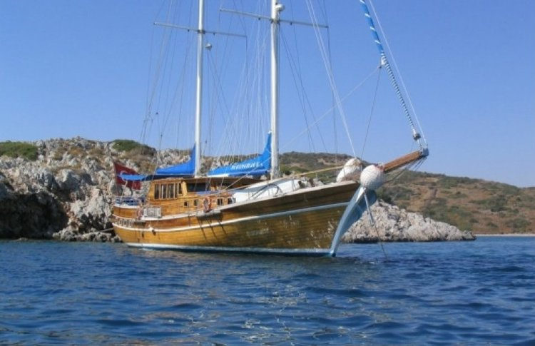Explore Turkey water aboard this beautiful gulet