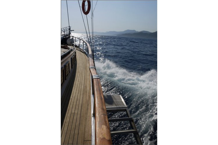 Discover Bodrum surroundings on this Custom Custom boat
