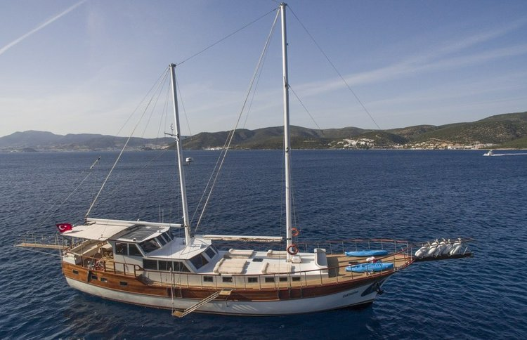 An awesome boat charter to enjoy Turkey in style