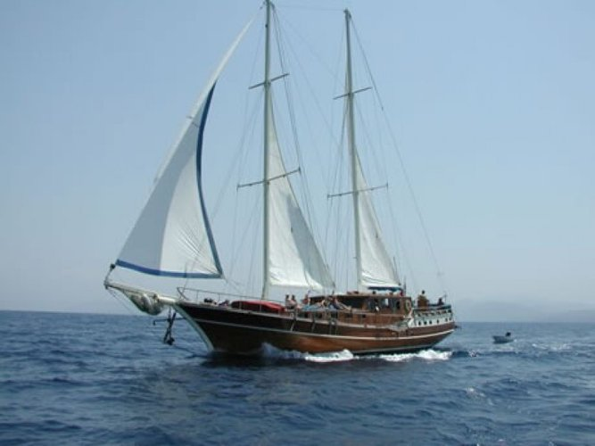 Jump aboard this amazing gulet to explore Turkey