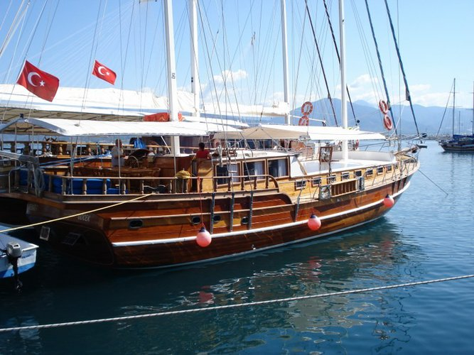 Enjoy the taste of the life afloat on a very economical crewed gulet