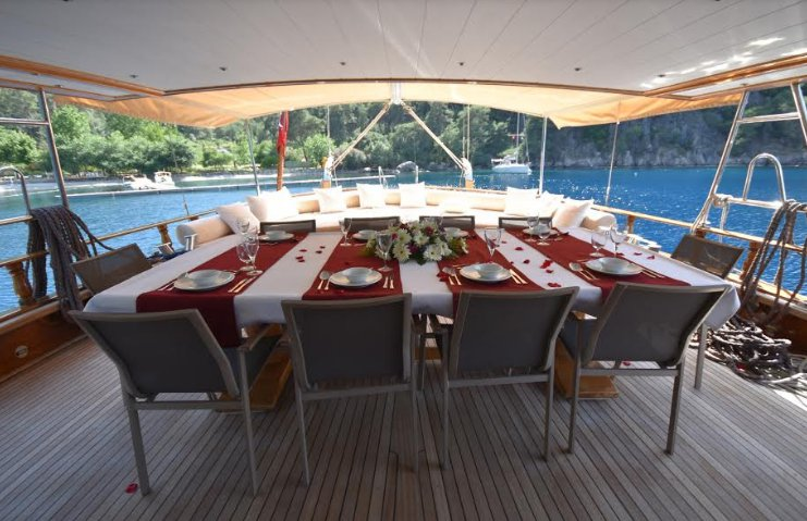 Boating is fun with a Gulet in Mugla