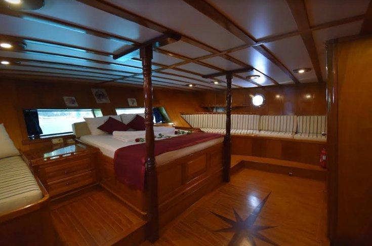 Gulet boat rental in Fethiye, Turkey