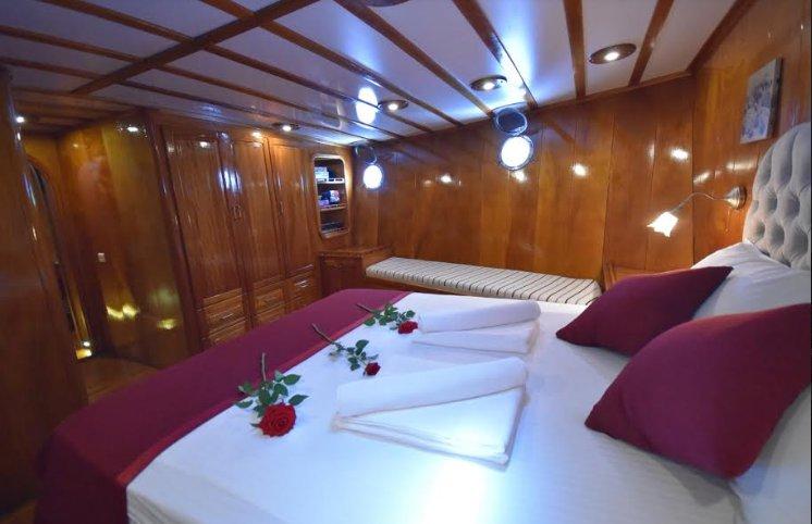 Gulet boat for rent in Mugla