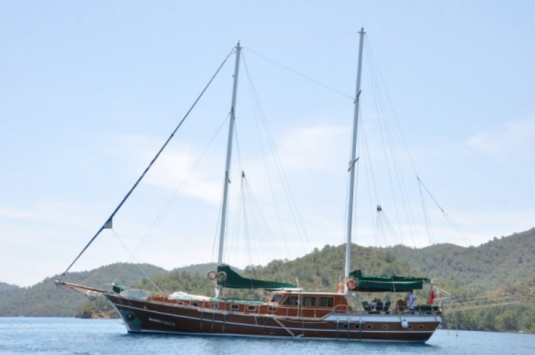 Climb aboard this gulet for an awesome sailing experience!