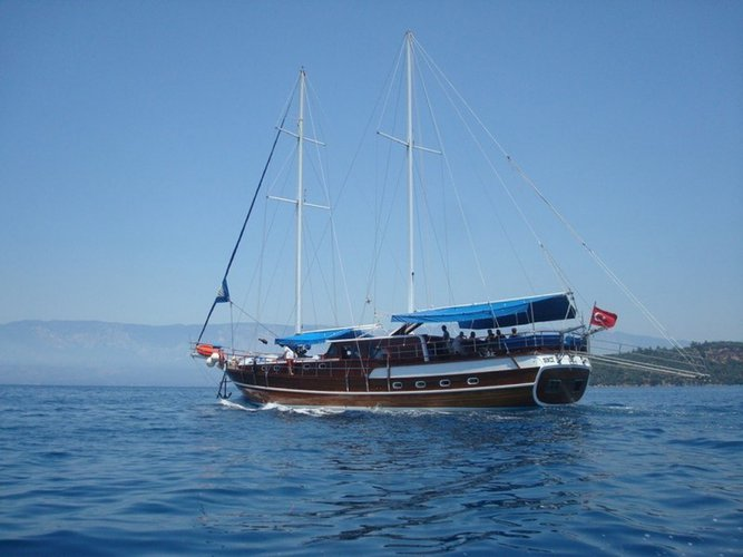 Perfect charter holiday in Turkey aboard this gulet