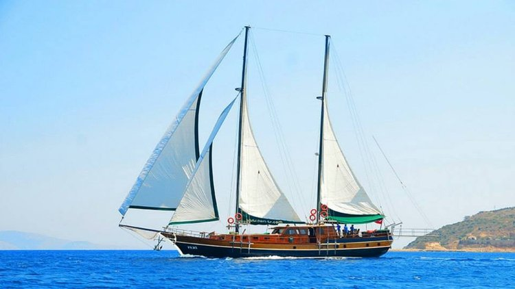 The best way to experience Bodrum is by sailing