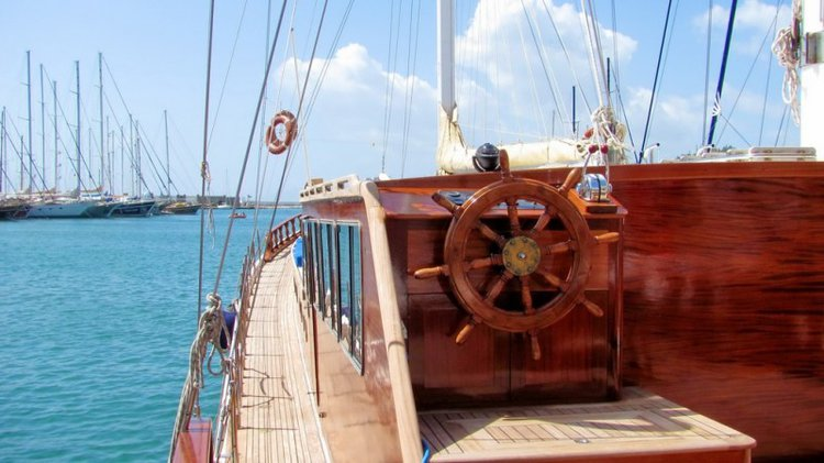 Beautiful 95 ft gulet ideal for sailing in Turkey