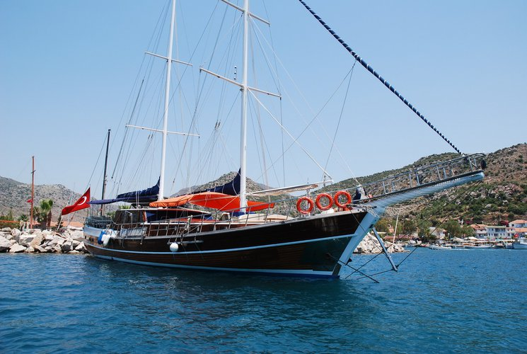 Experience sailing at its best on this gulet charter in Marmaris