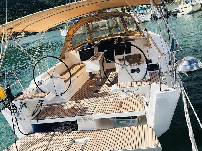 Boat for rent Dufour 36.0 feet in Manuel Reef Marina, British Virgin Islands