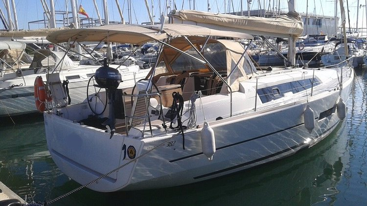Go on a nautical adventure on this beautiful Dufour 382