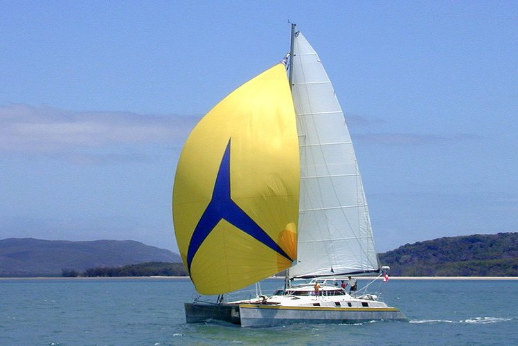 Comfortable sailing catamaran for up to 8 guests
