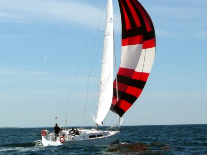 Get on the water and enjoy Stralsund in style on our Hanse Yachts Hanse 370