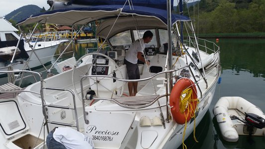 Hunter's 40.0 feet in Angra dos Reis