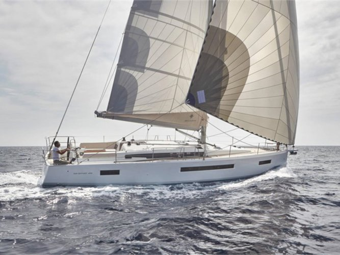 Climb aboard this Jeanneau Sun Odyssey 490 for an unforgettable experience