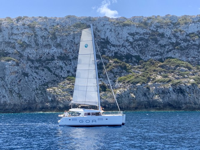 Discover Ibiza - Sant Antoni de Portmany in style boating on this sailboat rental