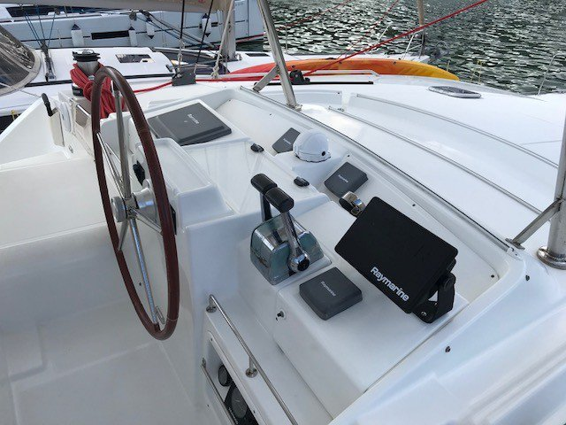 Catamaran boat rental in Manuel Reef Marina, British Virgin Islands